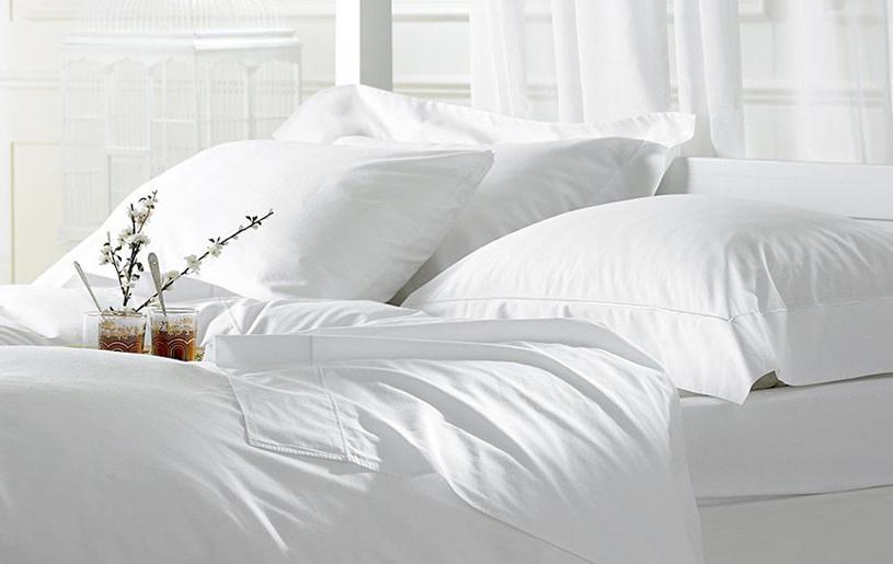 Douxe hotel bed Thanks Heavens egyptisch katoen
